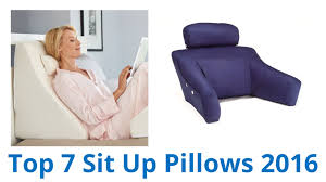 7 Best Sit Up Pillows 2016