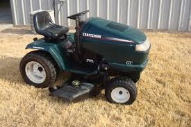 craftsman riding mower 6 spd 46 cut gt