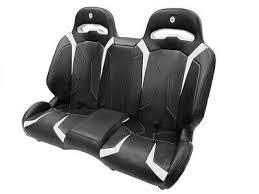 polaris rzr bench seat front rear