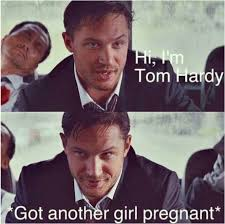 I ♥ Tom Hardy memes | Tom Hardy | Pinterest | Tom Hardy, I'm ... via Relatably.com