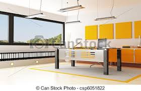office orange. Modern Office - Csp6051822 Orange I