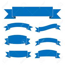 Blue Ribbon Design Stock Illustration