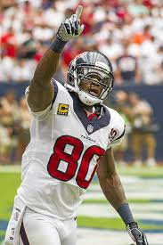 Houston Texans WR Andre Johnson used ...