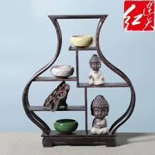 Wooden Display Stands For Figurines Shape Of Peach Wooden Display Stand Rosewood Figurines 26