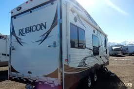 rubicon travel trailer toy hauler by dutchmen w 7 rear r door herriman