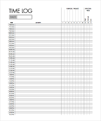 time management log time log sample open a timesheet time tracking invoices in