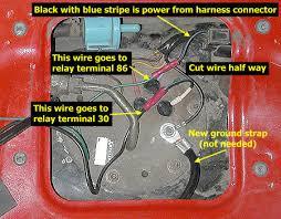 stealth 316 fuel pump re wire fuel pump wiring detail