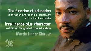 martin luther king jr on the function of education the best martin luther king jr the function of education
