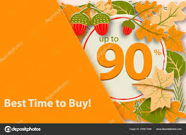 Sample Of Flyer Hello Autumn Sale Sample Fall Design Template Poster Flyer