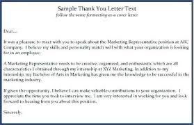 Template Letter Unsuccessful Job Interview New Sample Thank You