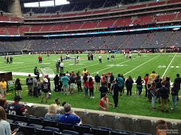 Nrg Stadium Section 104 Houston Texans Rateyourseats Com