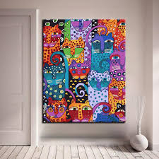 diy painting by numbers kits drawing abstract animals collection oil pictures wall craft coloring on canvas home decor framework by