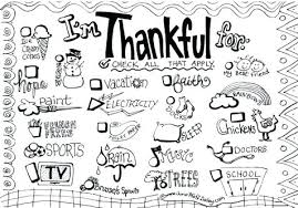 Free I Am Thankful Coloring Pages Thanksgiving Christian For Colo