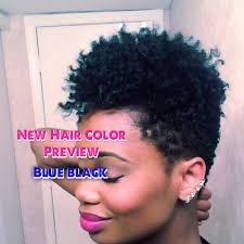 Best Blue Black Hair Dye For Natural Hair