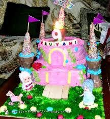 Coolest 9th Birthday Castle Cake
