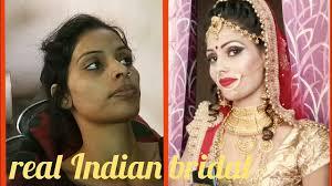 dark skin bridal makeup tutorial real bridal makeup step by step