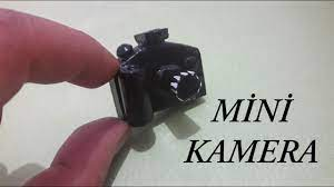 DIY // Minyatür kamera / Mini kamera yapımı / Miniature camera - YouTube