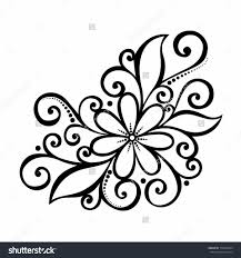 Cute Simple Drawings Of Flowers Easy Cute Flower Drawings Cute