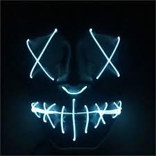 Led Light Up Mask Purge Amazon Com Led Light Up Purge Mask For Festival Cosplay