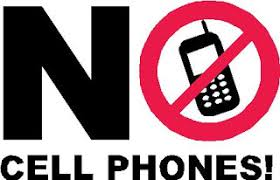 No Cell Phone Sign Printable Free No Cell Phone Clipart
