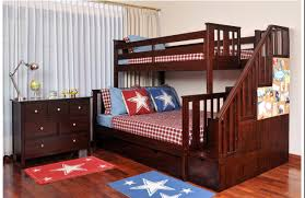 Bedroom Quality And Value Staircase Bunk Bed — Trashartrecords