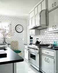 White Kitchen Tile Floor Subway Tile For Kitchen White Kitchen With Subway Tile Backsplas