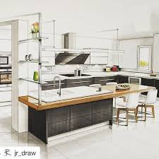 Kitchen Design Sketch Extraordinary Pin By Ladeng On 室内图纸 In 48 Pinterest Markers Sketches