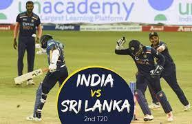 India vs Sri Lanka, Ind vs SL 2nd T20 ...