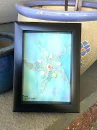 starfish sea glass art nautical wall teacher gifts coastal pier by ideas crafts sea glass art pebble genuine anchor framed nautical decor beach gift ideas