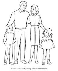 Coloring Pages Family Coloring Pictures Pages Printable Of