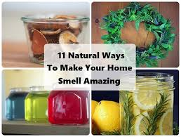 make your home smell amazing