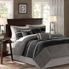 madison park teagan 7 piece black gray