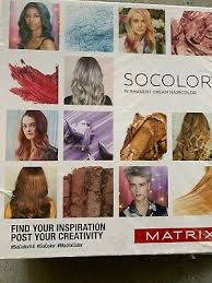 Matrix Socolor Color Chart Matrix Socolor Color Chart Swatchbook New Sealed 2018