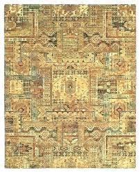 rustic wildlife area rugs 8x10 cabin rug lodge bear moose carpet