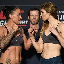 vs. Irene Aldana at UFC Fight Night ...