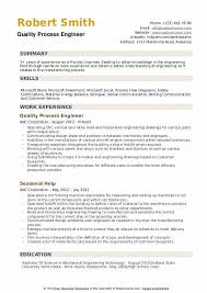 writing an engineering resumes process engineer resume samples qwikresume