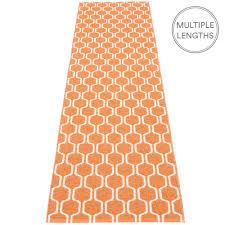 pappelina ants pale orange vanilla runner 70 x 270 cm