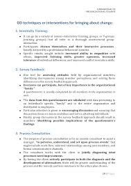 organizational change an organizational behavior project  a g e 24