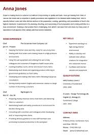 Chef Cv Examples Impression See Souschefresume Example Sous Resume
