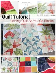 About A Quilt Sampler Final post : How To Join Quilt As You Go ... & Joining Quilt As You Go Tutorial How to join quilt as you go block Adamdwight.com