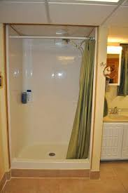 fabulous shower stall curtain fiberglass shower stall in the bathroom with curtains shower stall curtain rod