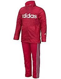 adidas girls. baby girls\u0027 zip jacket and pant set adidas girls l