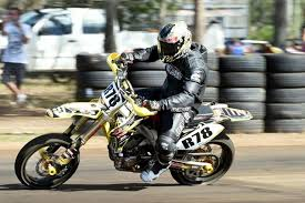 new supermoto track passes first test with flying colours fraser