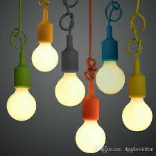 colorful pendant lighting. Muuto E27 Pendant Lamp Multi Colors Light Art Decor Modern Lighting Dinning Room Shop Decoration Single Head Colorful Semi Flush Ceiling N