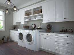 pre assembled laundry room cabinets
