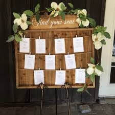 Rustic Seating Chart Archives Joani Wedding Decor