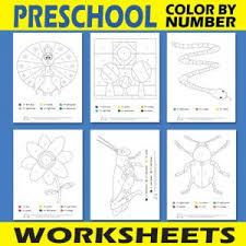Color by number worksheets, printables, and coloring pages for all ages of kids and skill levels. Free Printable Color By Number Worksheets Itsybitsyfun Com