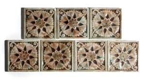 antique fireplace tiles sold seven matching antique fireplace tiles by tile company 3 x 3 antique antique fireplace tiles