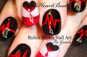 Robin Moses Nail Art: Anti-Vaentine's Day Nail Art Design Ideas ...