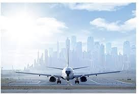 Apalis Fensterfolie Sichtschutz Fensterbild Flugzeug Vor Dem